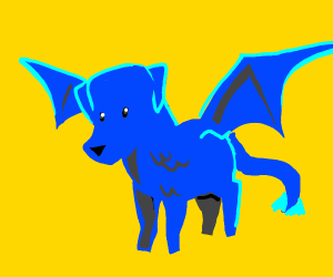 blue dragon dog pio