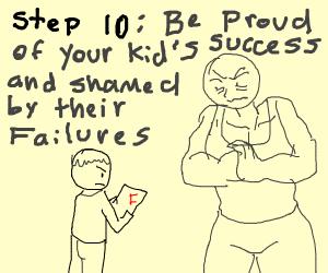 step 9: wake up proudly