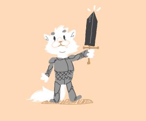 kitty cat knight