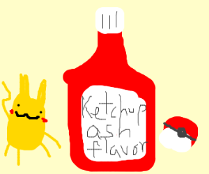 Ketchup is a Pokémon trainer
