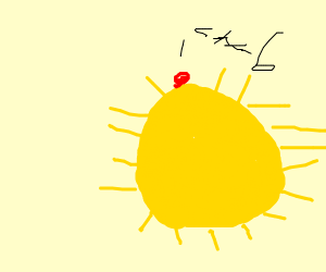 Crab on the Sun