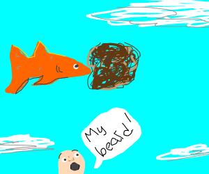 Flyingfish pushing a Beard