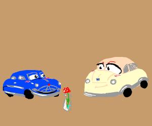Cars: the romance movie