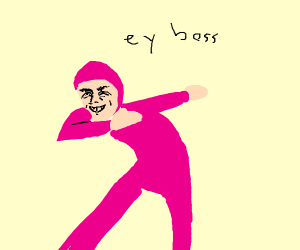 pink person DABS