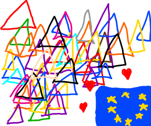 The EU loves triangles.