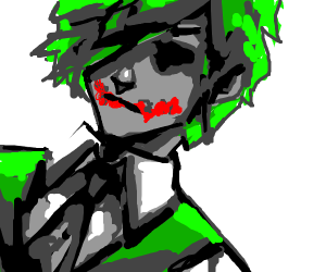 Chill anime joker. (No not with UwU face!)