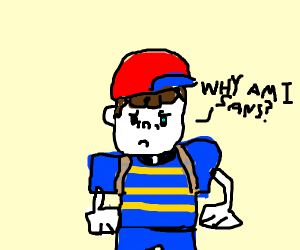 Ness was not Sans but he is now