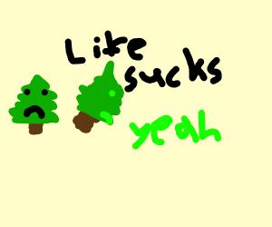 Depressing Little Trees