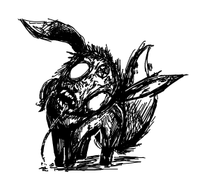 Demon eevee