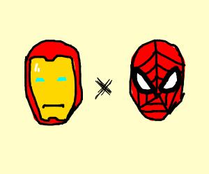 Ironman x spiderman