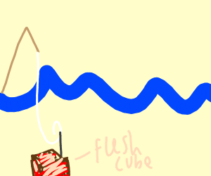 Fishing for a cube