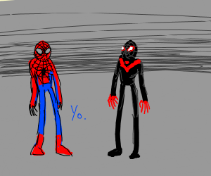 spiderman  and miles morales