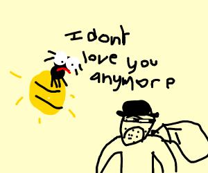 Firefly divorcing Robber