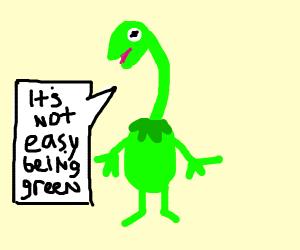 Kermit the Giraffe