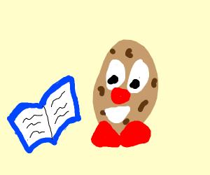 Mr. Potato Head Reading
