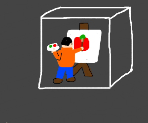 Painter in a Box