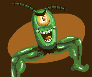 Plankton with muscular legs