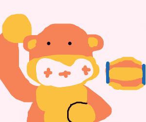 donkey kong from the arcade game