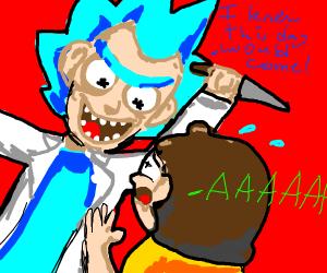 Rick kills Morty