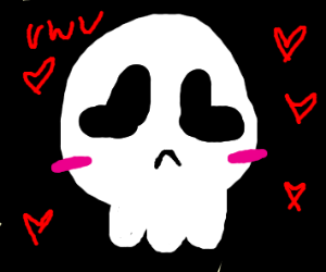 cute skeleton