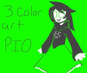 3 color art PIO