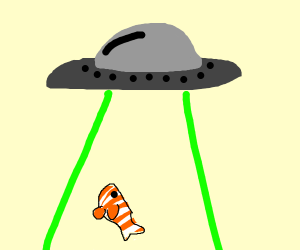 aliens abduct clownfish