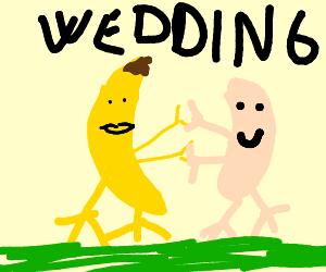 Banana marrying Cashier