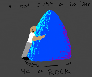 dwayne johnson is in love with a boulder