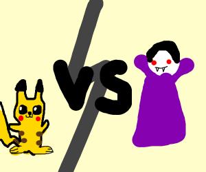 Pikachu vs Dracula