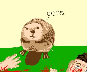 beaver accidentally killed everyone