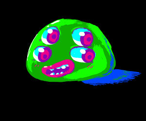 Four eyed slime