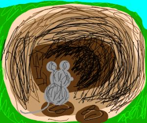Mouse adventurer explores colossal cave