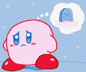 Kirby misses King Dedede