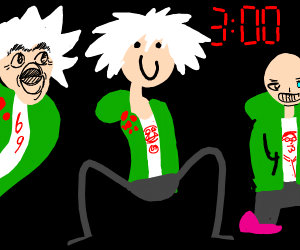 Me and the boys at 3am but they're Komaeda