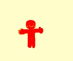 Cute red guy
