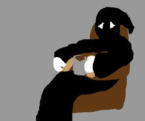 Sad grim reaper