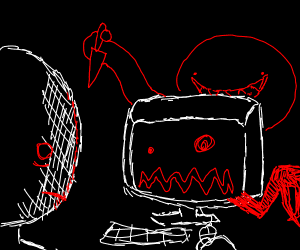 edgy monster on the pc