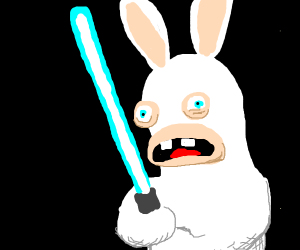 Star wars with Rabbits