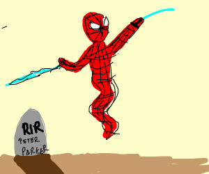 Spider-Man is a ghost now