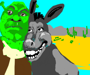 donkey from shrek
