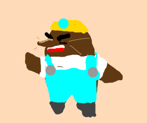 That angry mole guy from Animal Crossing