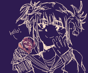 Girl and Sentient Ice Cream