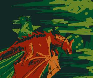Dragon horse bandit strikes again!