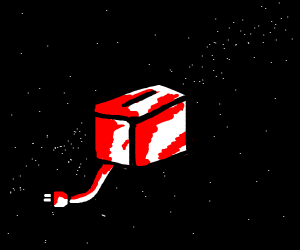 toaster in space