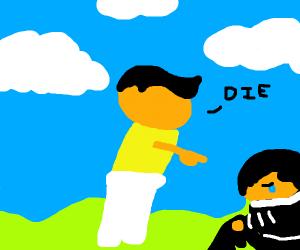 Bullys telling emo girl to die