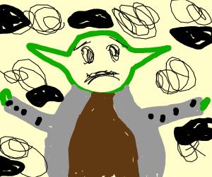 Depressed Yoda
