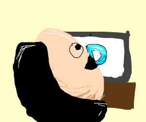 Egg is ready to play Drawception