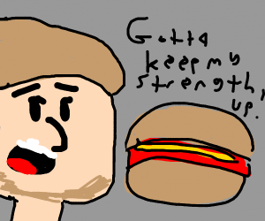 Shaggy eats a Hot Dog
