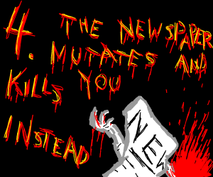 3: Kill the mutated bee with a newspaper