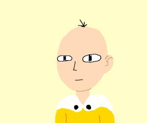 Saitama with Hair